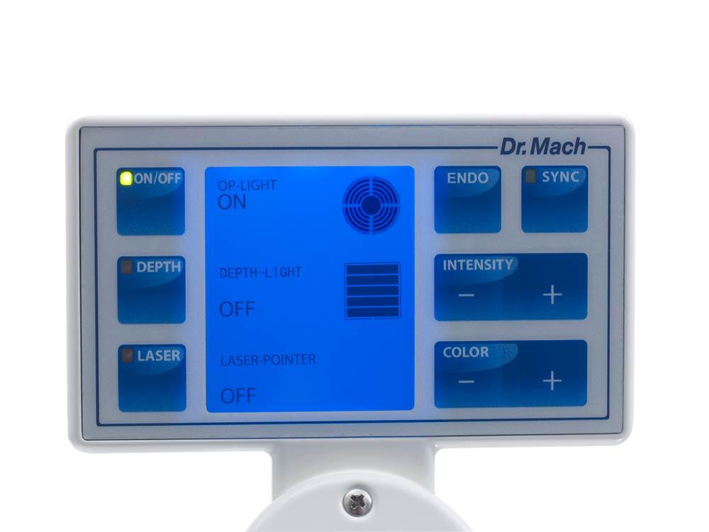 Dr. Mach  LED 2 Bedienpanel am Leuchtenkörper